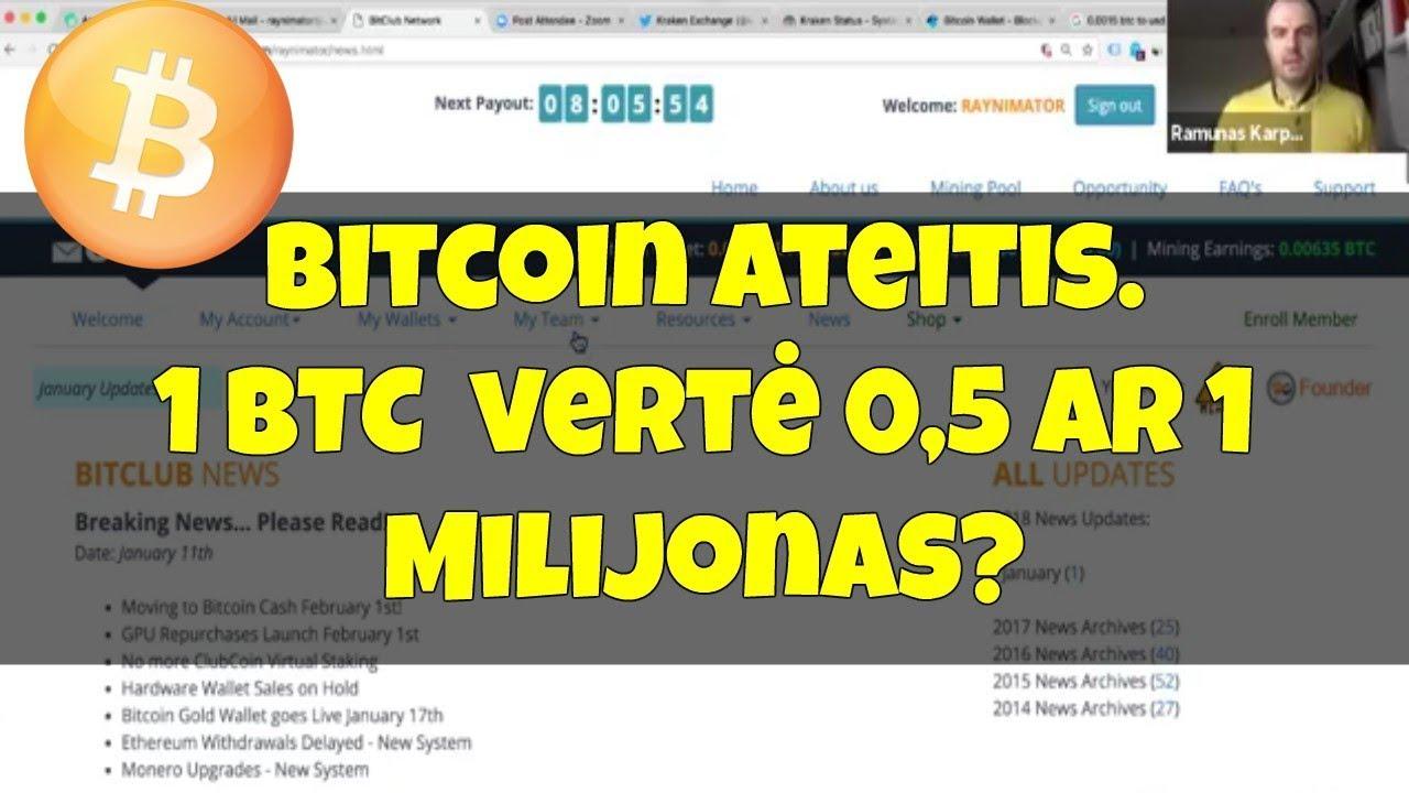 kaip gauti Bitcoin grynųjų sv)