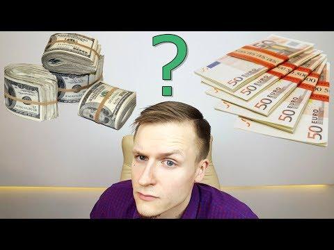 Kaip iš karto užsidirbti didelių pinigų