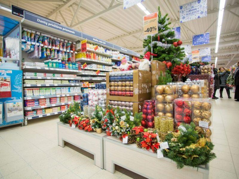 Didieji prekybos centrai paskelbė darbo laiką per šventes