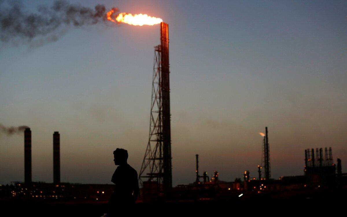 kuris buvo apklaustas prekyboje nafta