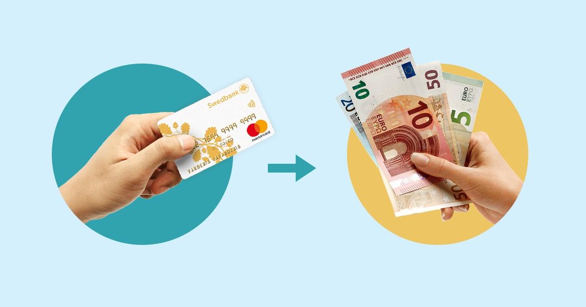 pinigų pasirinkimo galimybė)