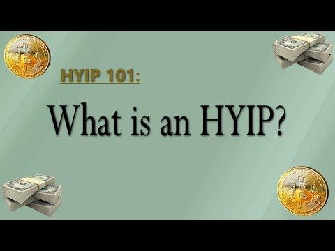 HYIP uždarbis internete