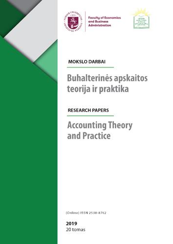 Pasirinkimo teorija verslo vertinimo praktikoje