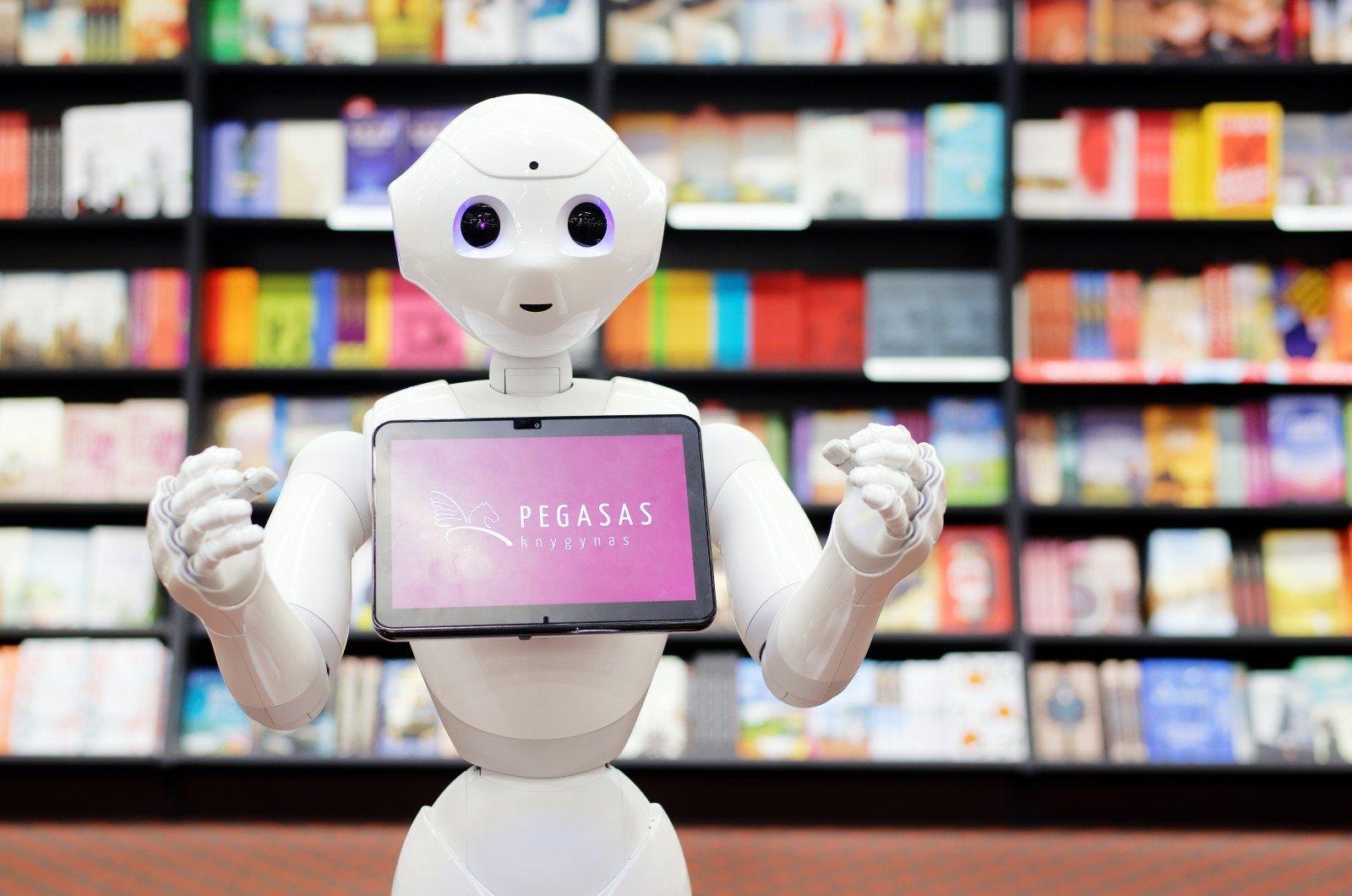 prekyba robotais