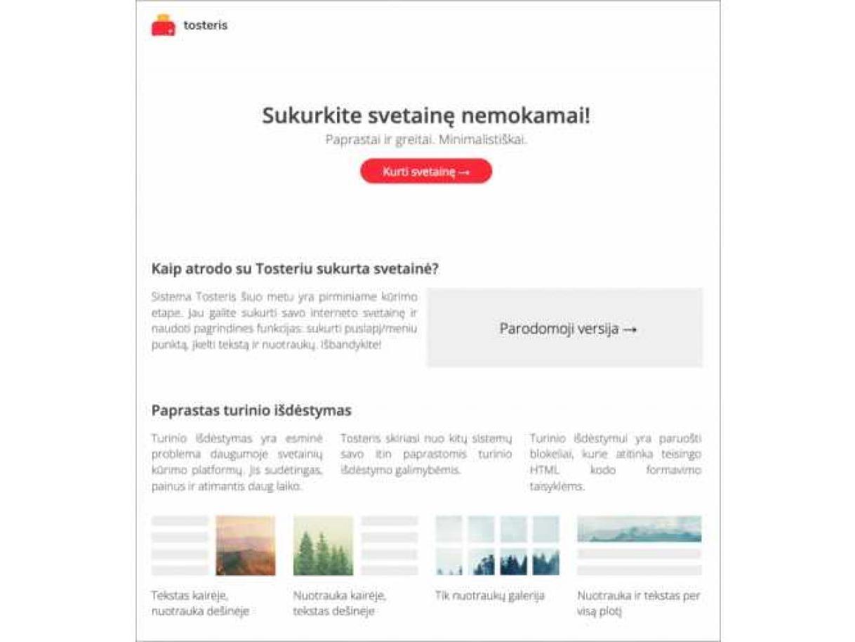 platforma investiciniam projektui kurti)