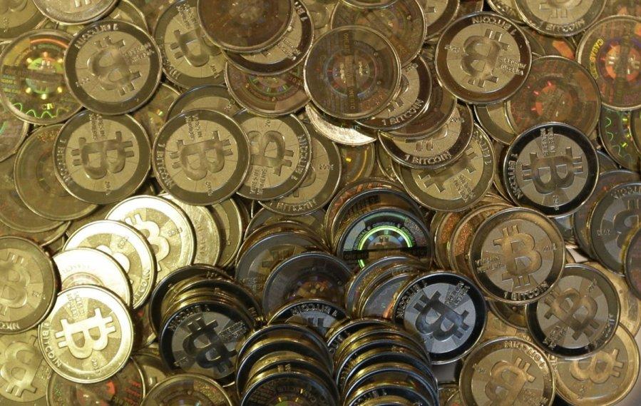 bitkoinų pinigai