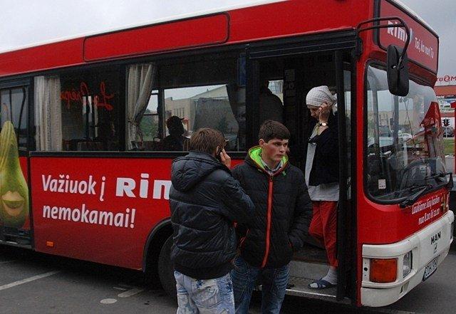nusipirkti autobusą prekybai