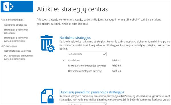 pasirinkimo strategijų pavyzdžiai