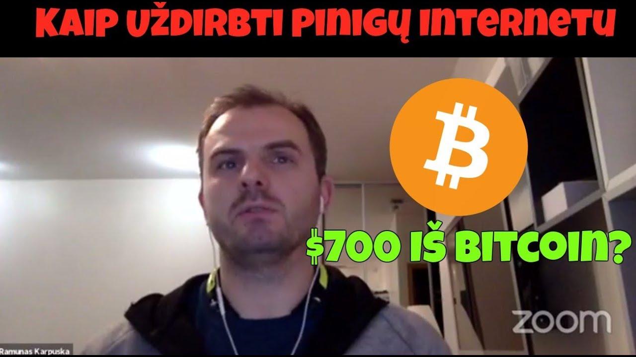 bitkoinas kaip užsidirbti daug neinvestuojant