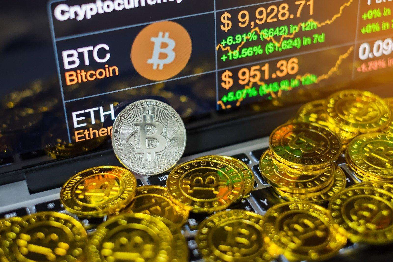 bitkoinas yra padalintas