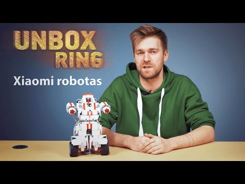 robotai prekybos centre)