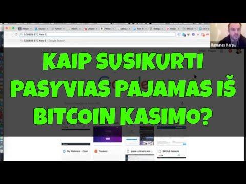 botas uždirbti bitkoinus