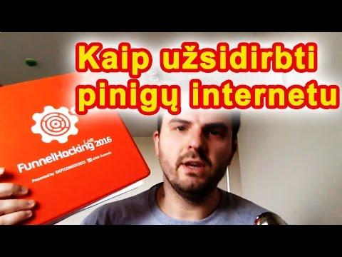 kaip užsidirbti pinigų makleriui internete)