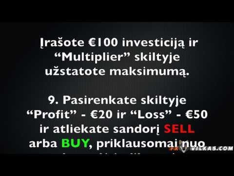 dvejetainiai variantai, kaip užsidirbti pinigų naujienoms kiek uždirbu iš bitkoinų