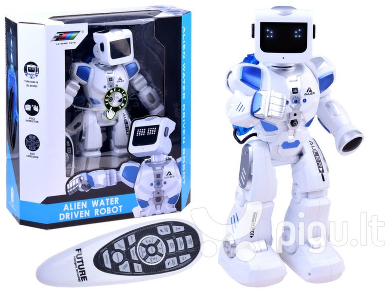robotai prekybos centre