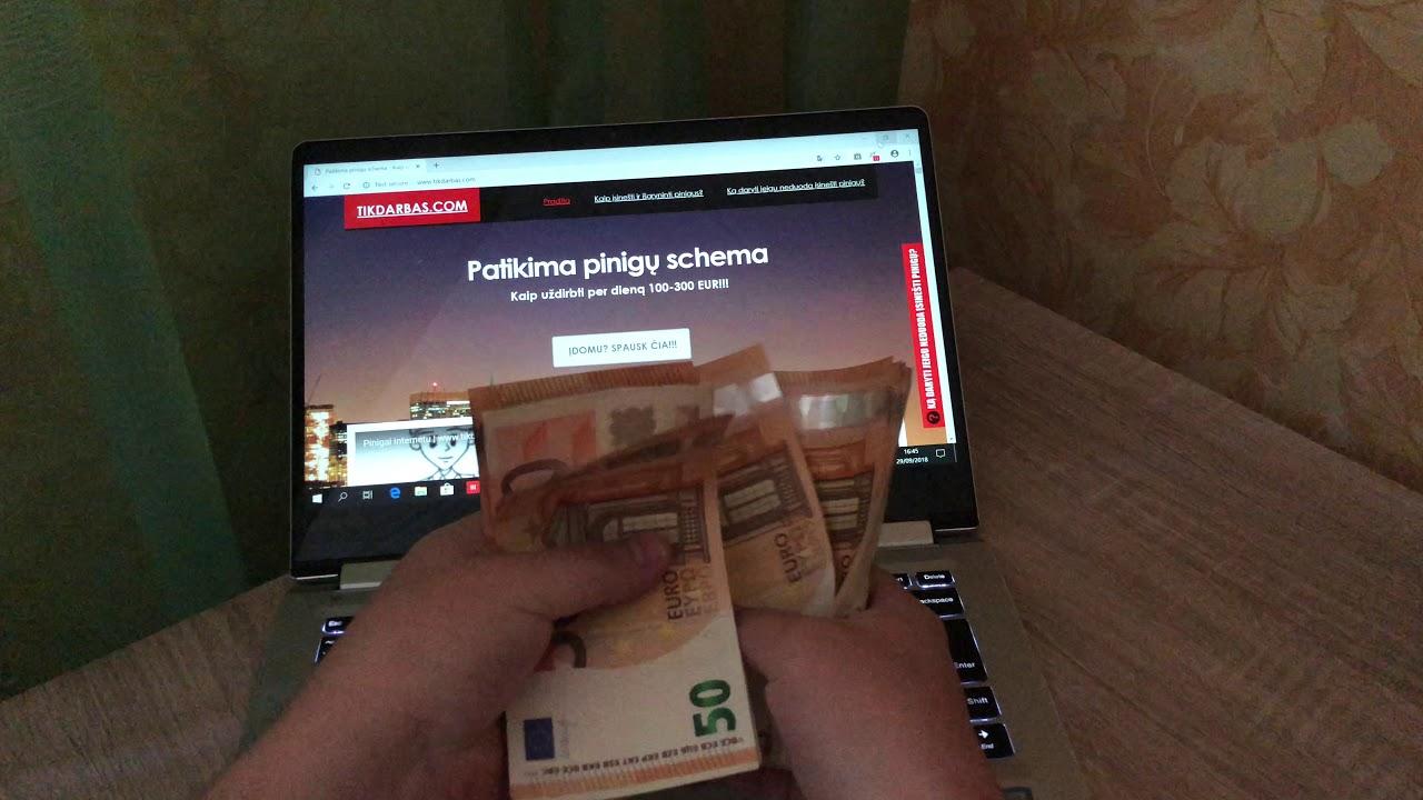 kaip užsidirbti pinigų be darbo ir pinigų dvejetainių parinkčių svetainių įvertinimas