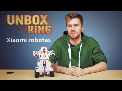 prekybos centrai su robotais)