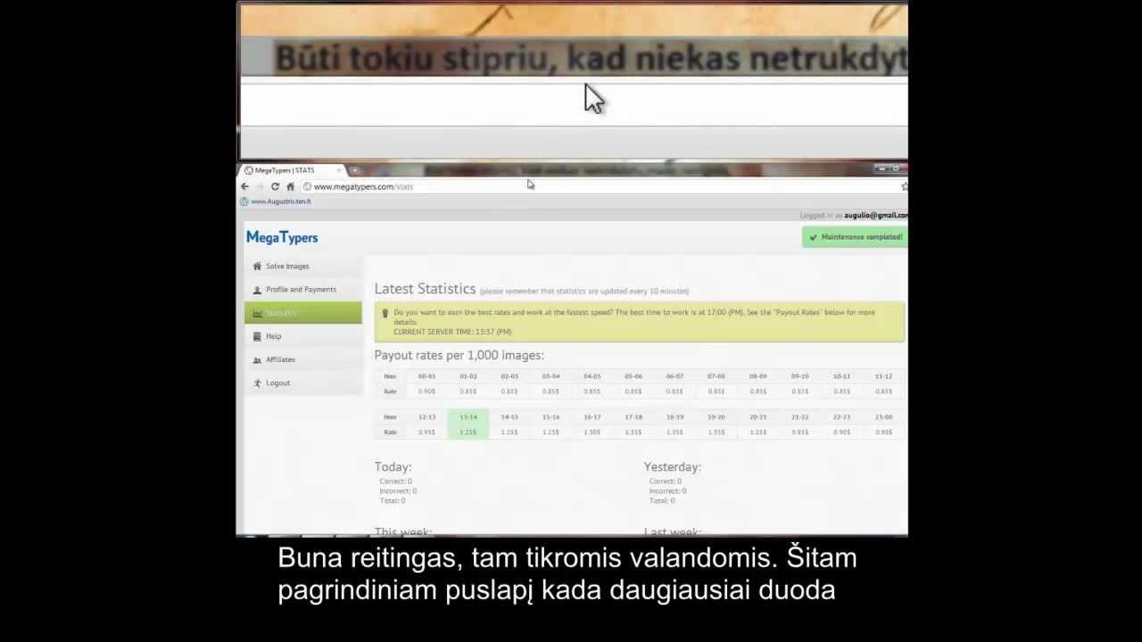 interneto uždarbio kūrimas)