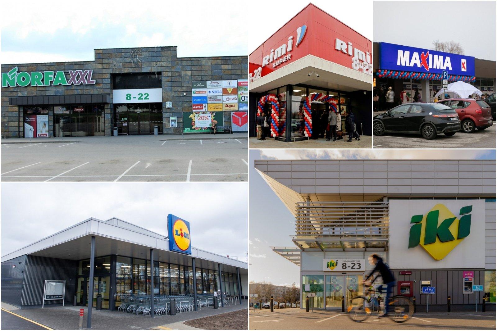 kuo prekiauja prekybos centrai